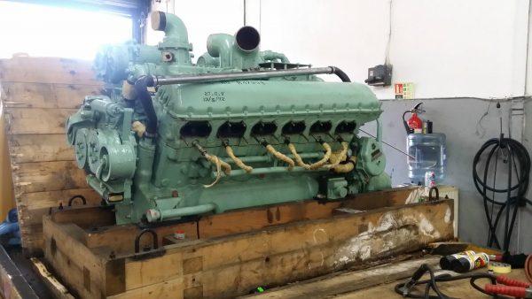 Rolls Royce V12 Meteor 27 litre Tank Engine. Credit: www.barn-finds.co.uk