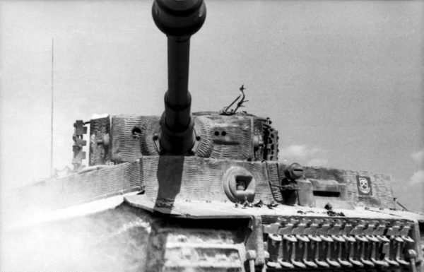 The Tiger I's armour was up to 120 mm on the gun mantlet.