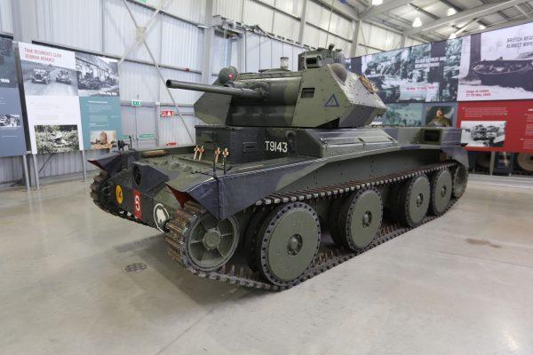 Cruiser Mk III in the Tank Museum, Bovington. Geni CC BY-SA 4.0