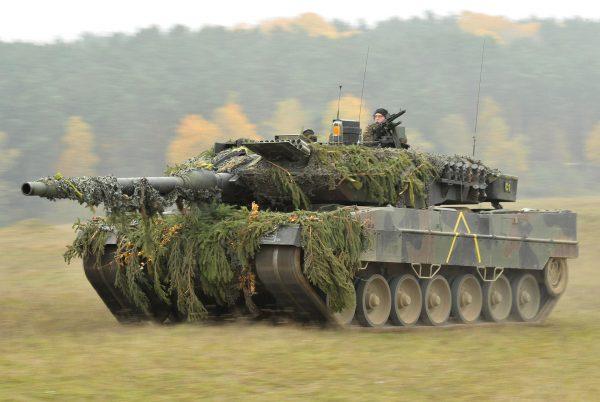A German Army Leopard 2A6