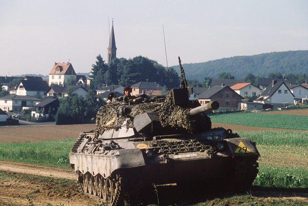 German Army Leopard 1A1
