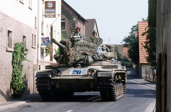 A US Army M60A1