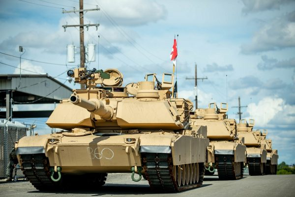 The modernization of the Greywolf brigade, with the addition of receiving the new Abrams tanks, makes 3ABCT the most lethal and agile armored brigade in the Army. (U.S. Army photo by Sgt. Calab Franklin)