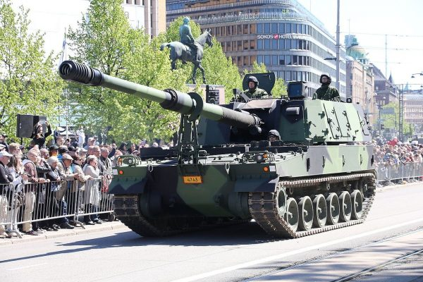 Finland also use the K9, like this one here at a parade.