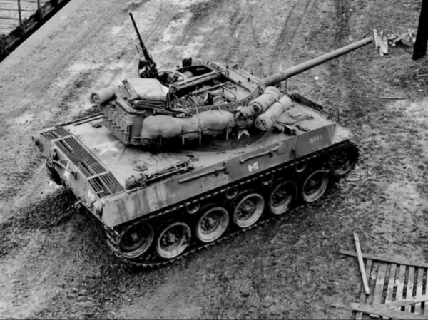 M18 of the 827th Tank Destroyer Battalion 1944