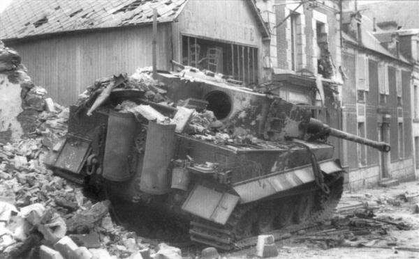 Was an open field tank