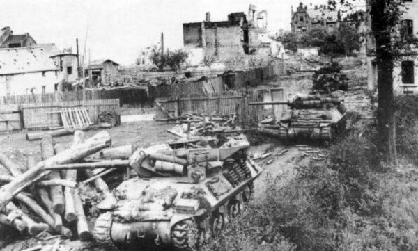 684th Tank Destroyer Battalion, Aachen October 1944