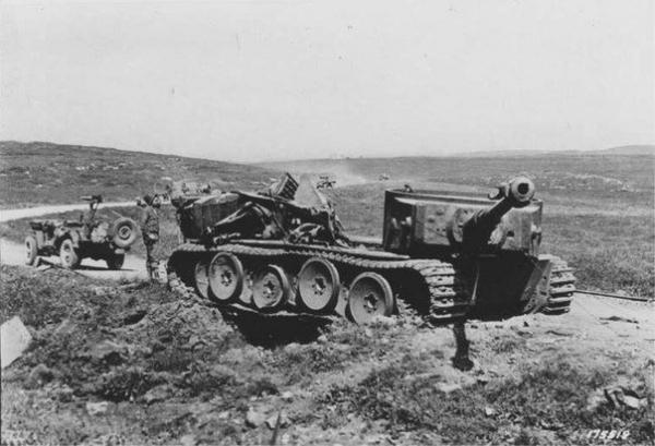 Tiger of Schwere Panzer-Abteilung 504, Ponte Dirillo Sicily