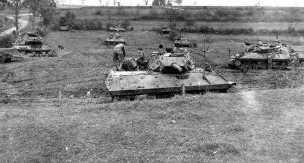 818th Tank Destroyer Battalion France
