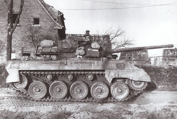 M18 Hellcat was a very effective tank desytroyer.