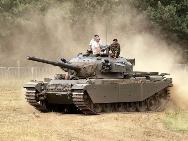A Centurion MK 5.