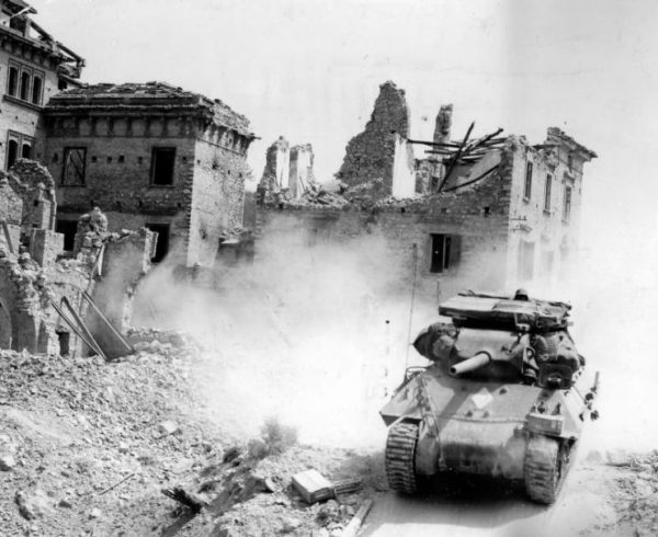 Free French 3rd Algerian Division In Omia Italy 1944