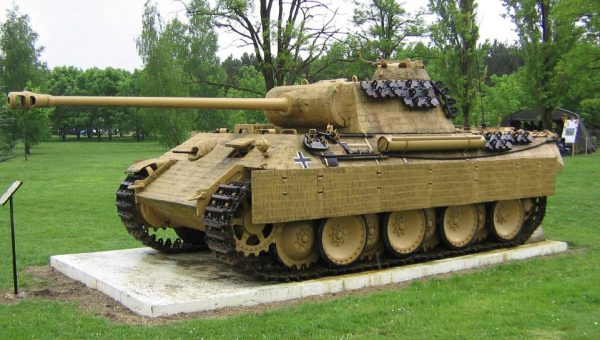 That fearsome Panther tank. Image by Iamthebest052 CC BY-SA 4.0