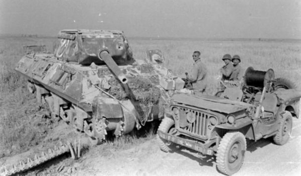 Knocked out M10 February 1944 Italy