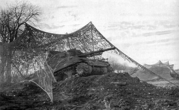 M36 702nd Tank Destroyer Battalion Roer River 1944