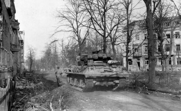 M36 in Julich, Germany 24 February 1945