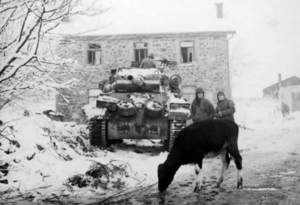 M36 in the Ardennes, 1945