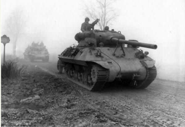 M36 of the 703rd Tank Destroyer Battalion Werbomont, 20 December 1944