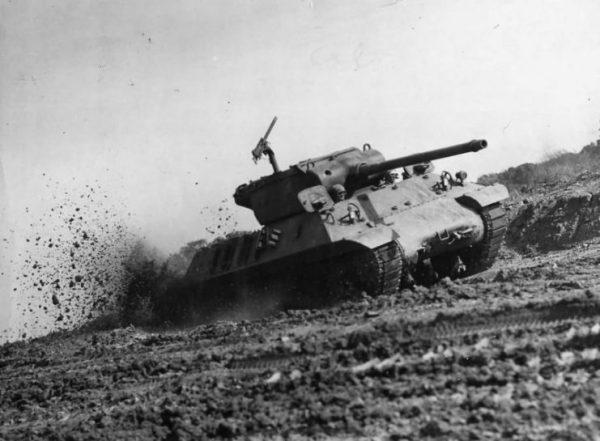 M36 Slugger Tank Destroyer Tested at Aberdeen 1945