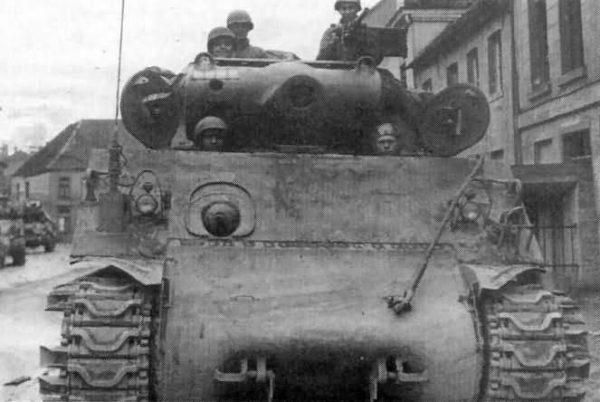 M36B1 tank destroyer 1945