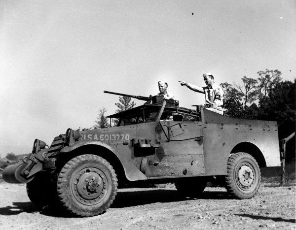 The M3A1 Scout Car