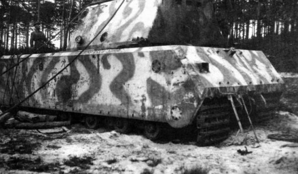 Maus found by Soviets at the Kumersdorf proving grounds