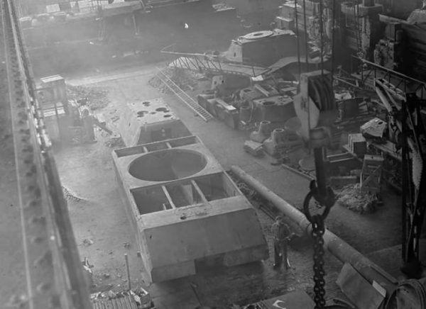 Maus turret and hull after being captured by the Allies