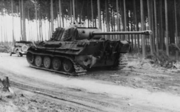 Panther ausf G with steel wheels