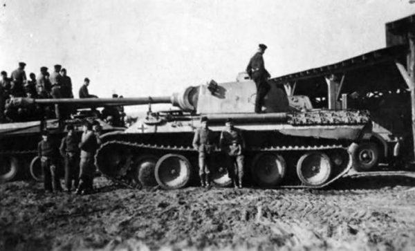 Panther tank Ostpreussen 1944