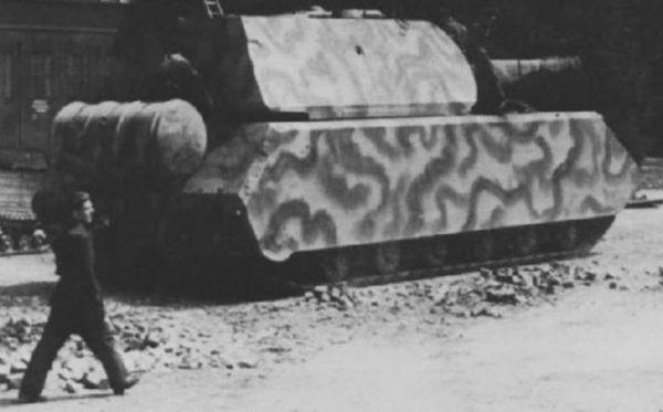 Porsche Type 205 Maus, April 1944