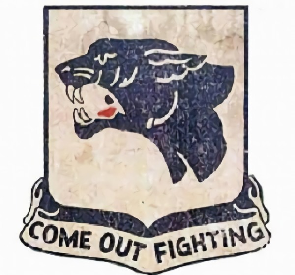 Shoulder sleeve patch of the United States 761st Tank Battalion.