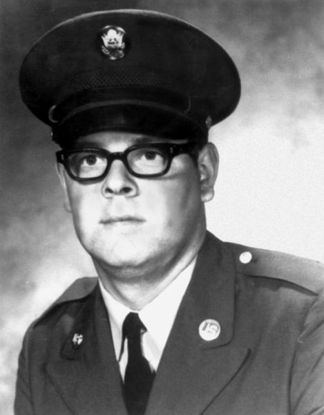 Specialist Four Larry G. Dahl, United States Army, posthumous Medal of Honor recipient in the Vietnam War