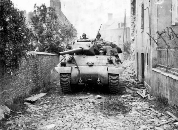 St Fromond France 703 Tank Destroyer Battalion 3 Armored Division