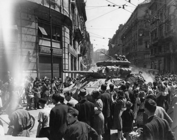 Tank Destroyer In Italy