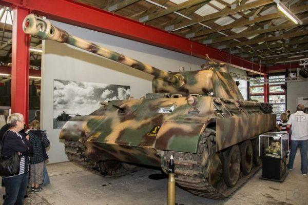 The Panther was intended to counter the Soviet T-34 Tanks.Photo Thorsten Hansen CC BY-ND 2.0