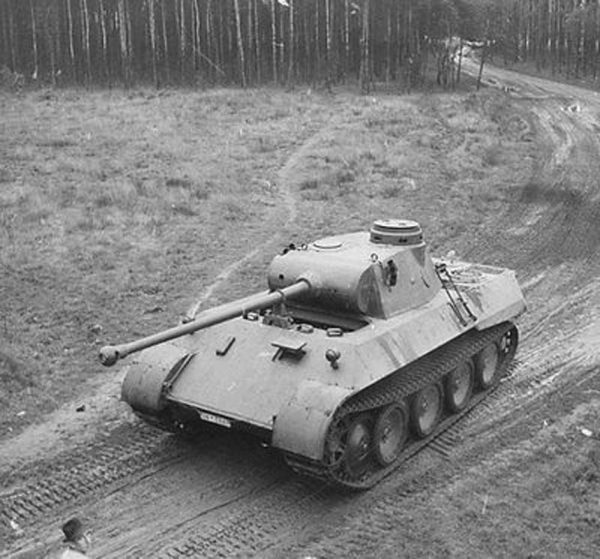 The VK30.02(M) prototype during trials. Photo Source