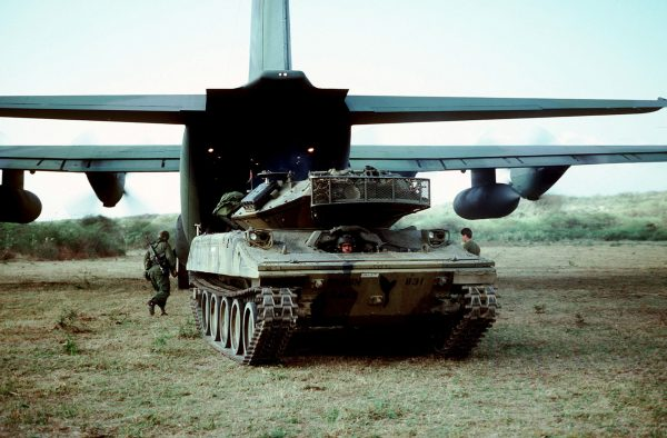 Airborne and light infantry units haven't been equipped with a light tank since the M551 Sheridan.