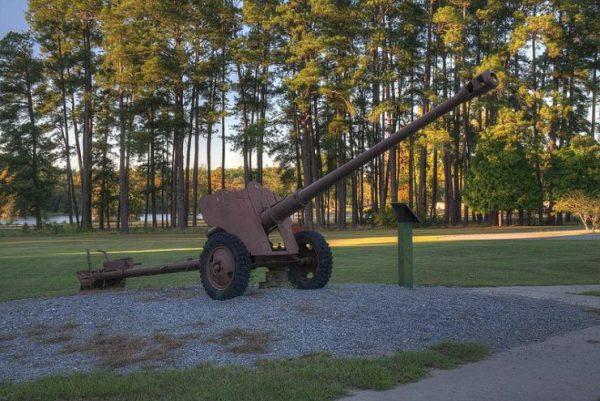 D-44 on display at Georgia Veterans State Park. By Dsdugan CC0