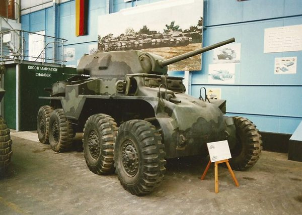 The single surviving Boarhound at the Tank Museum, Bovington. Image by Hugh Llewelyn CC BY-SA 2.0
