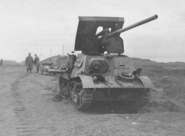 Komsomoletz ZiS-30 anti tank gun