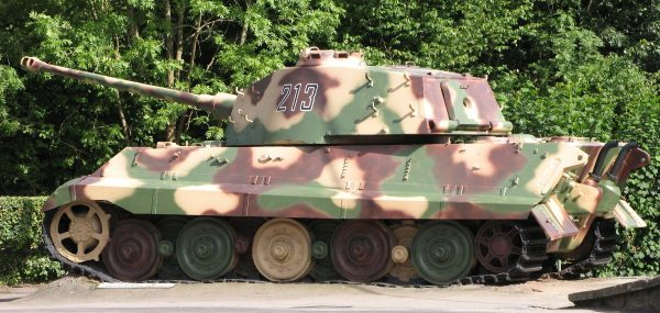 This Tiger II from the 1st SS Panzer Division was abandoned a week later La Gleize, Belgium.