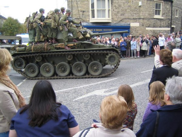 """M24 Chaffee at October """"War Weekend"""" in Pickering. By Phil Catterall CC BY-SA 2.0"""