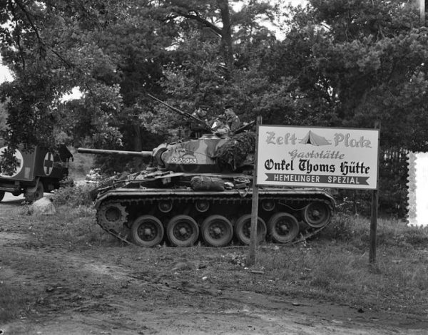 M24 Chaffee in Germany 1953. By van Duinen Anefo CC0