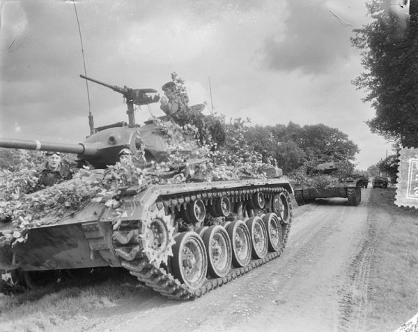 M24 Chaffee in Germany 1954. By van Duinen Anefo CC0