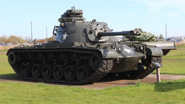 The M48 Patton, the US's first full MBT of the Cold War.
