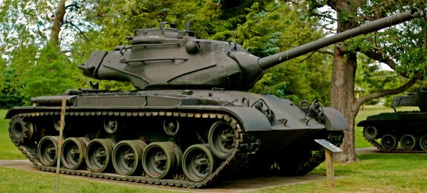 An M47 Patton, one of the US's line up of Cold War tanks. Image by Jeff Kubina CC BY-SA 2.0