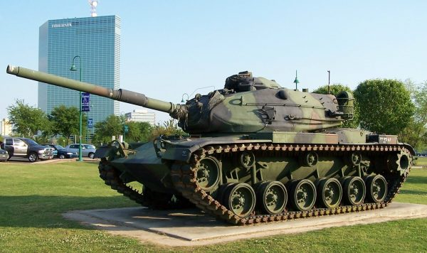 An M60A3 with the classic needle nose turret. Image by DanielCD CC BY-SA 3.0