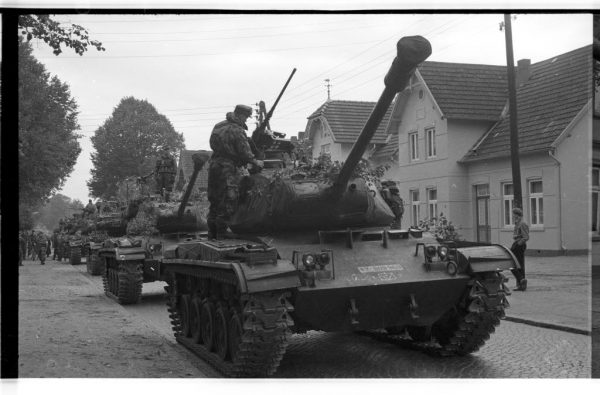 German M41 Walker Bulldogs of the 3rd Panzer Division in the Trittau and Neumünster area.