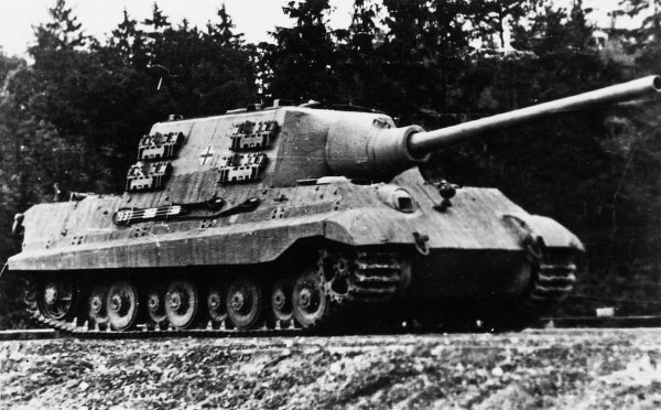 The mighty Jagdtiger.