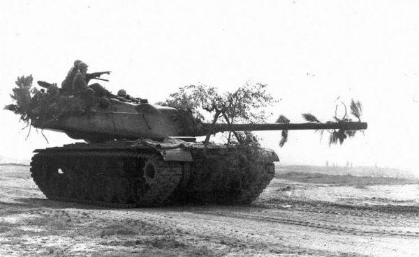 An M103 tank in 1958.
